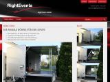 RightEvents - Webseite